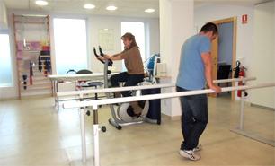 Consulta de Fisioterapia en Clínica Sanares