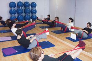 Consulta de pilates en Clínica Sanares