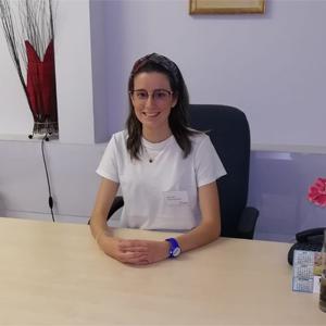 María Peña González, Terapia Ocupacional
